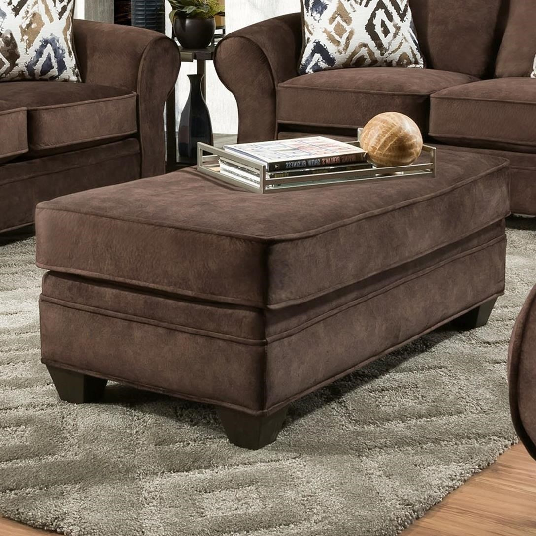 3760 Ottoman by Peak Living at Prime Brothers Furniture
