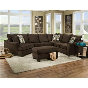 Peak Living 3810 Sectional Sofa