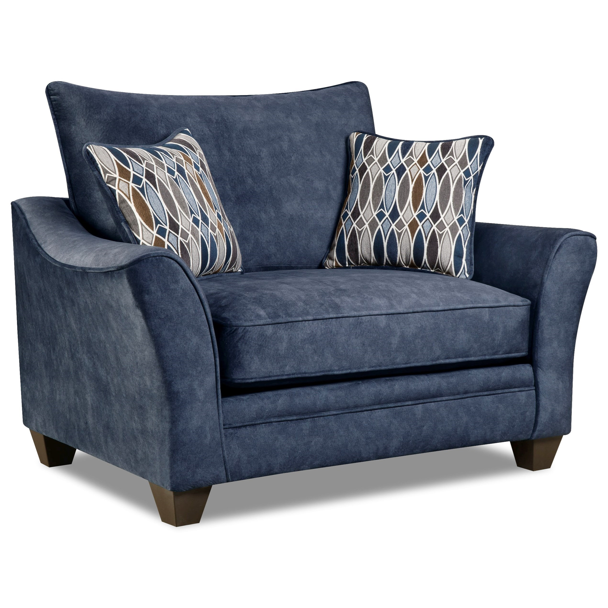 3850 Chair and a Half by Peak Living at Prime Brothers Furniture