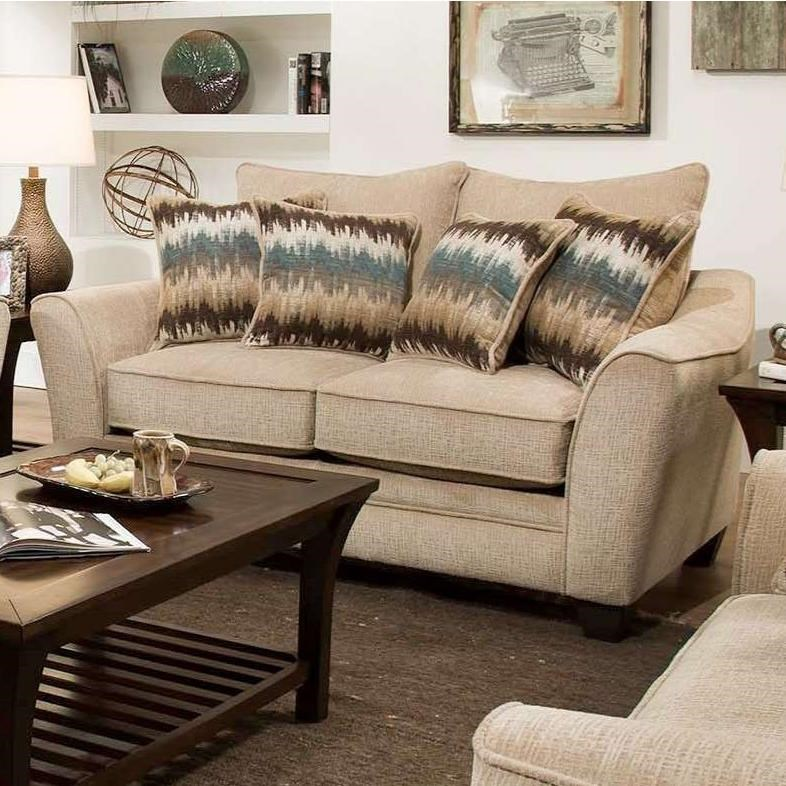 3850 Loveseat by Peak Living at Prime Brothers Furniture