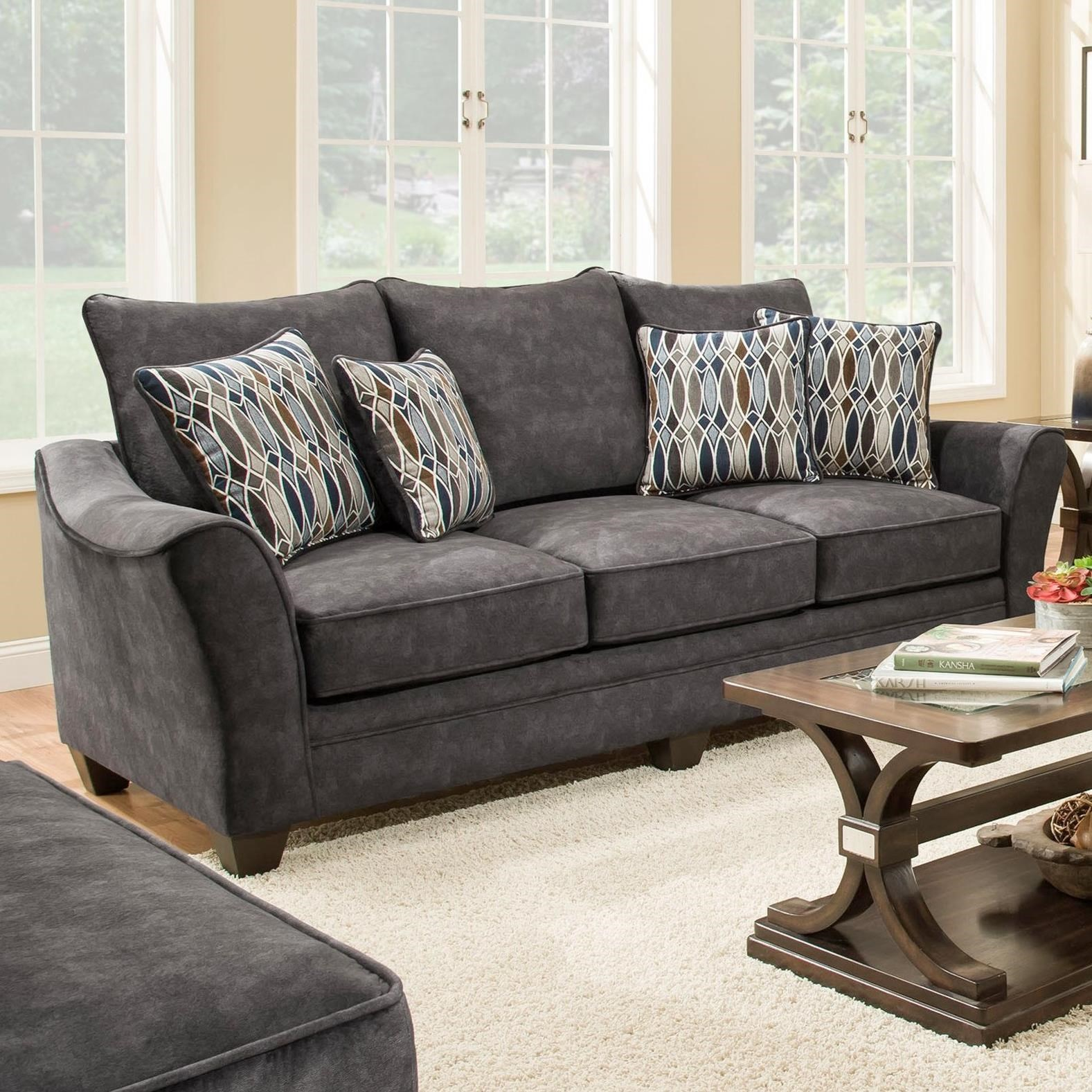 3850 Sleeper Sofa (Mattress Not Included) by Peak Living at Prime Brothers Furniture