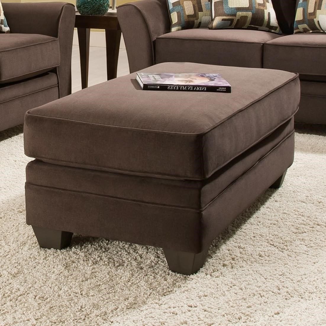 3850 Ottoman by Peak Living at Prime Brothers Furniture