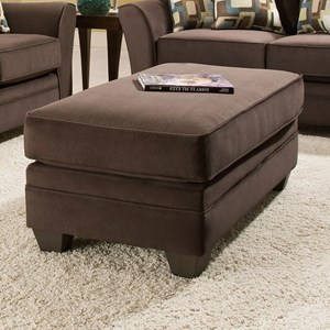 Ottoman with Casual Style