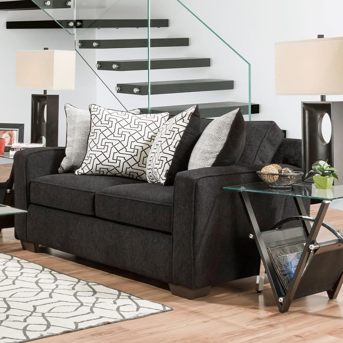 4050 Loveseat by Peak Living at Prime Brothers Furniture