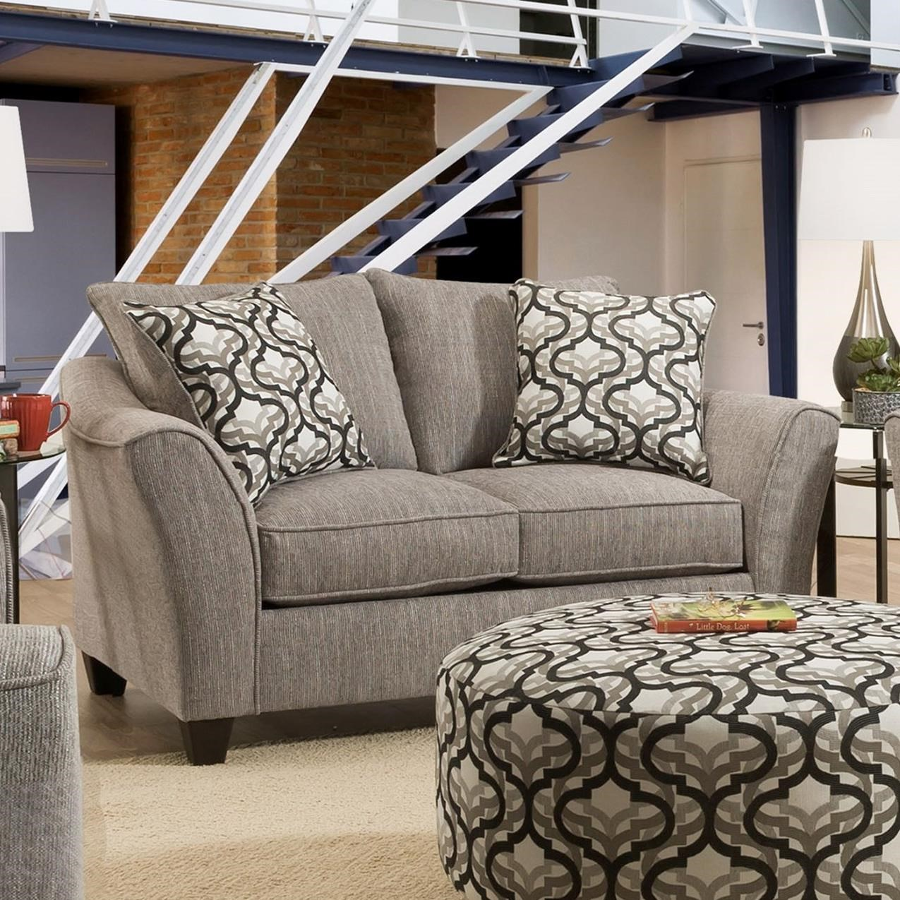 4550 Loveseat by Peak Living at Prime Brothers Furniture
