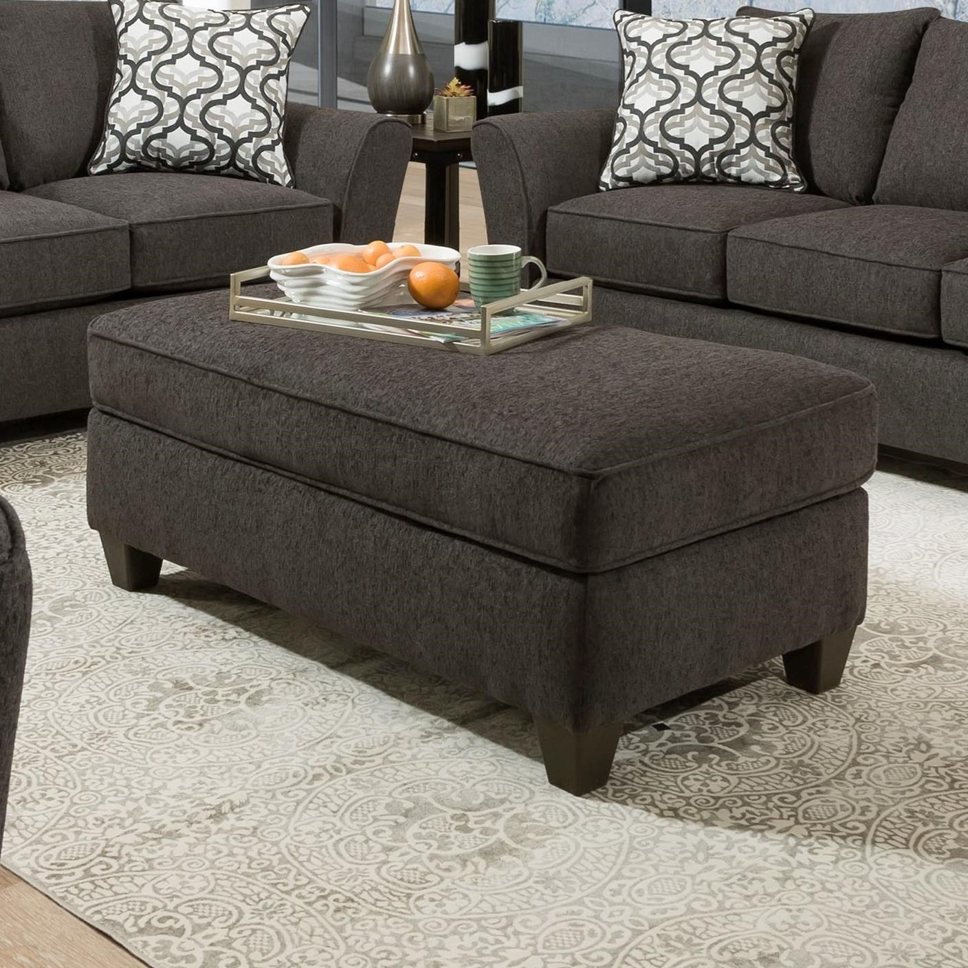 4550 Storage Ottoman by Peak Living at Prime Brothers Furniture