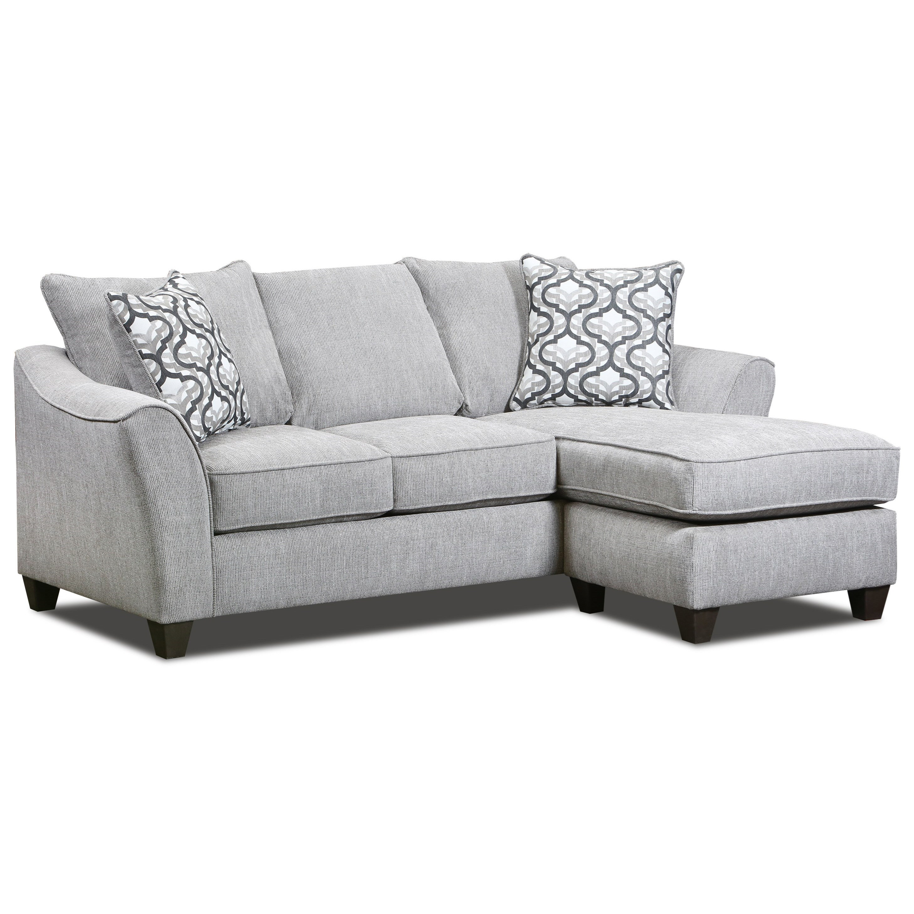4550 Sofa Chaise by Peak Living at Prime Brothers Furniture