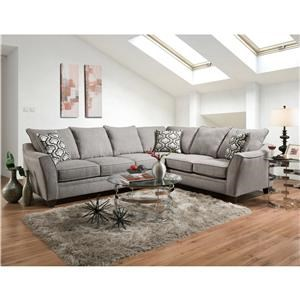 5 Seat Sectional Sofa