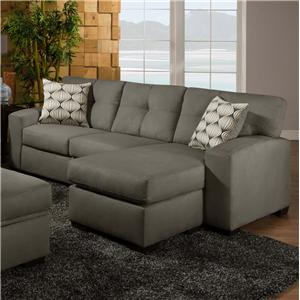 American Furniture 5100 Group Sofa Chaise Ottoman
