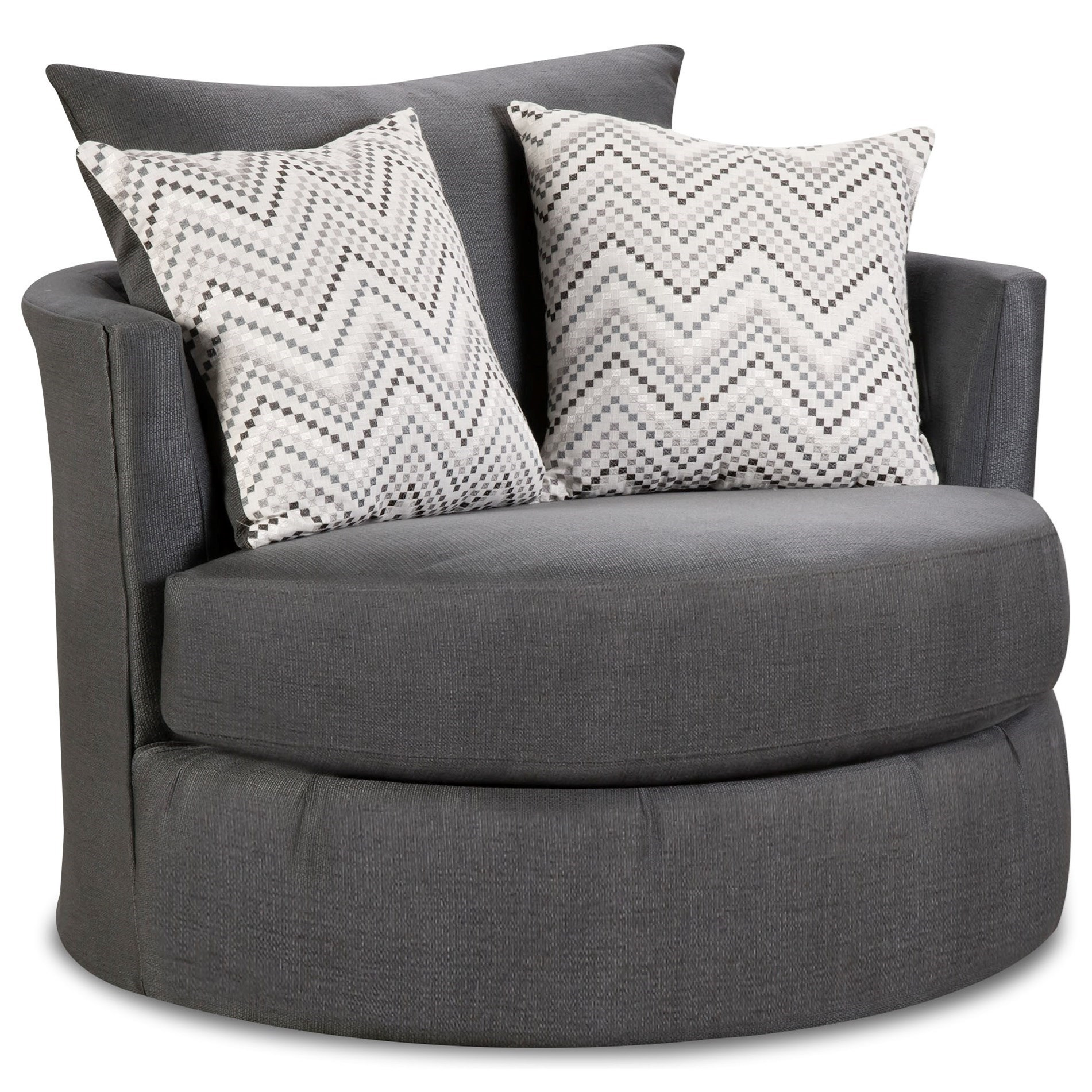 5500 Swivel Chair by Peak Living at Prime Brothers Furniture