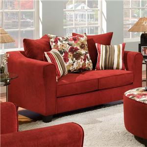 American Furniture 6300  Loveseat