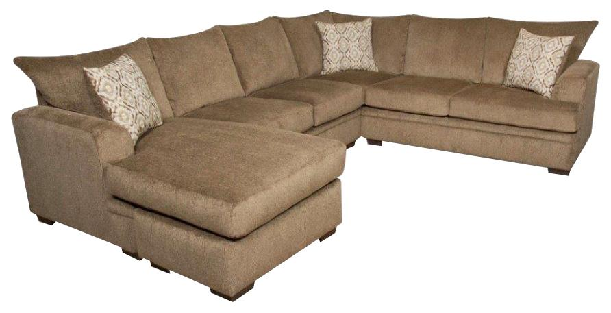6800 Sectional Sofa with Left Side Chaise by Peak Living at Steger's Furniture