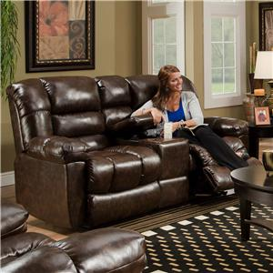 American Furniture AF550 4800 Reclining Loveseat w/ Console