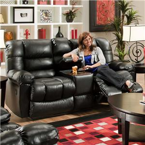 American Furniture AF550 Group Reclining Loveseat w/ Console