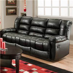American Furniture AF550 Group Reclining Sofa