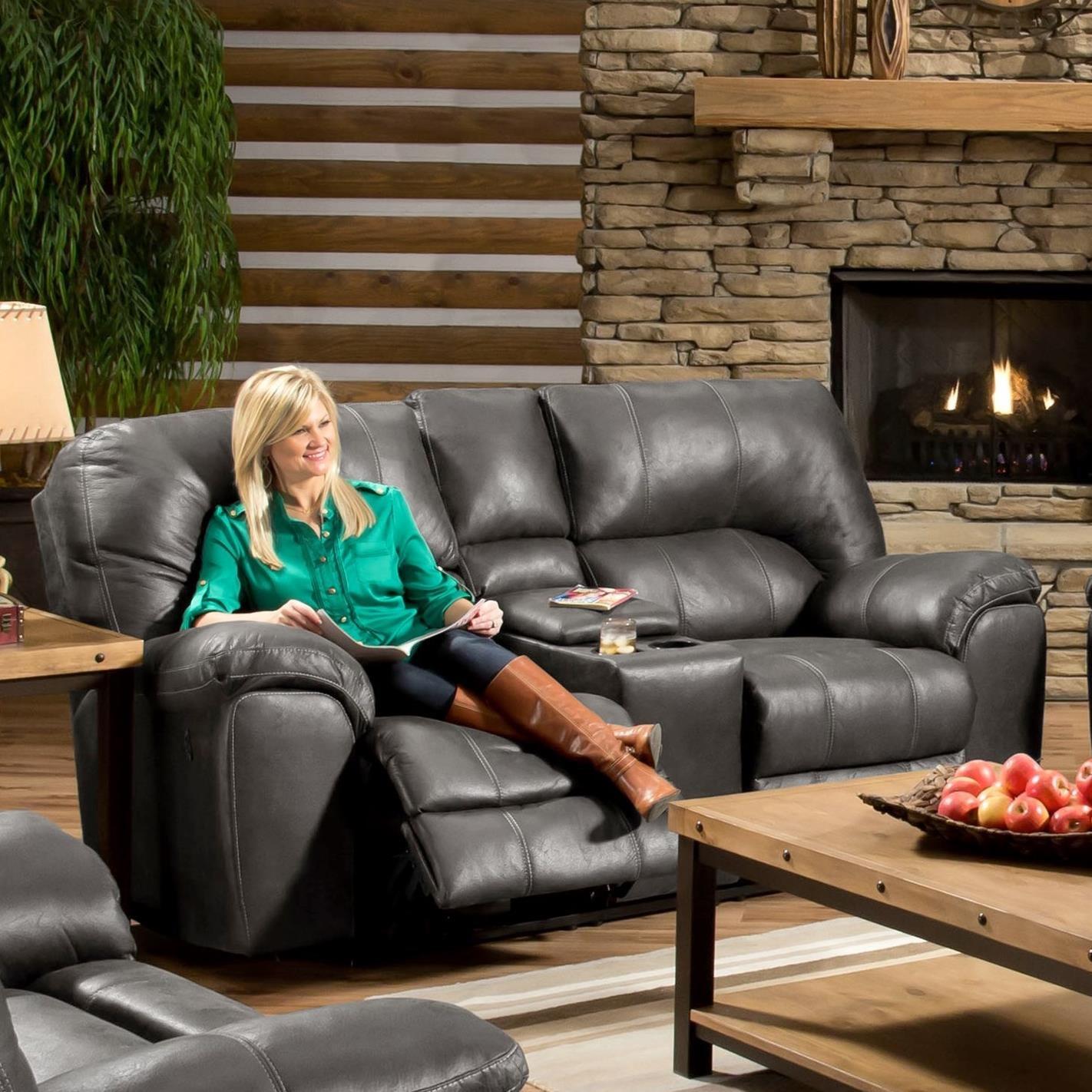 AF740 Reclining Loveseat by Peak Living at Smart Buy Furniture