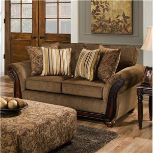 American Furniture 5650 Loveseat