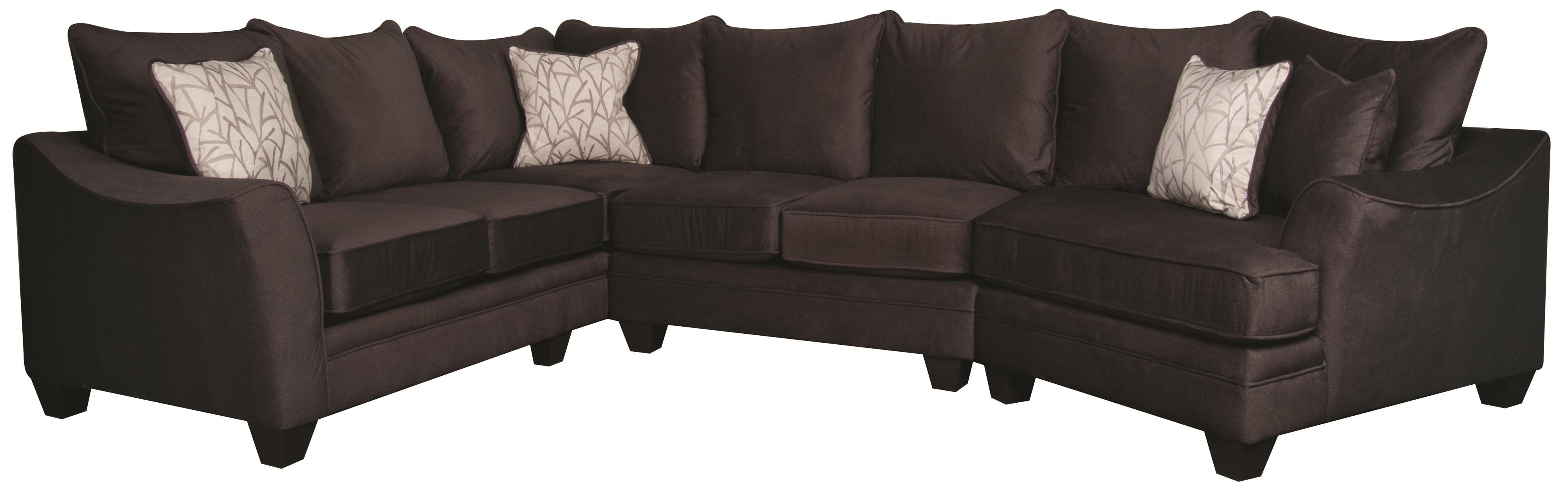 Rachel  Rachel Sectional Sofa by Peak Living at Morris Home