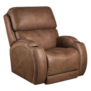 American Furniture Recliners Power Recliner with Cup-Holders