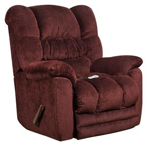 American Furniture Recliners  Recliner with Heat and Massage