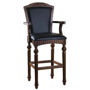 "American Heritage Billiards Bar Stools 30"" Palmetto Bar Stool"