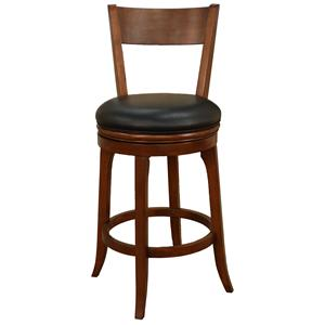 "American Heritage Billiards Bar Stools 30"" Autumn Suede Bar Stool"