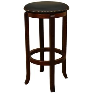 "American Heritage Billiards Bar Stools 30"" English Tudor Princess Bar Stool"