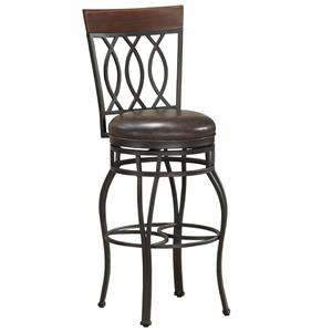 "American Heritage Billiards Bar Stools 26"" Bella Bar Stool"