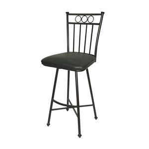 "American Heritage Billiards Bar Stools 26"" Black Davenport Bar Stool"