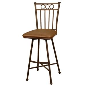 "American Heritage Billiards Bar Stools 26"" Ginger Davenport Bar Stool"