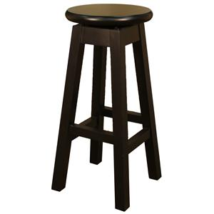 "American Heritage Billiards Bar Stools 24"" Black Taylor Bar Stool"