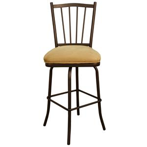 "American Heritage Billiards Bar Stools 24"" Pepper Melody Bar Stool"