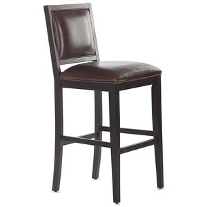 "American Heritage Billiards Bar Stools 30"" Bryant Black Bar Stool"