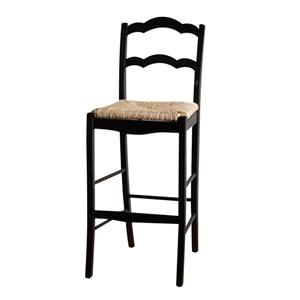 "American Heritage Billiards Bar Stools 26"" Black Charleston Bar Stool"