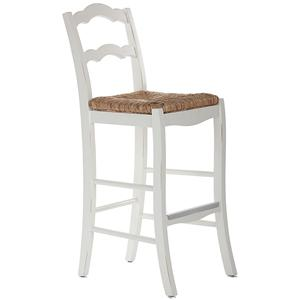 "American Heritage Billiards Bar Stools 30"" White Charleston Bar Stool"
