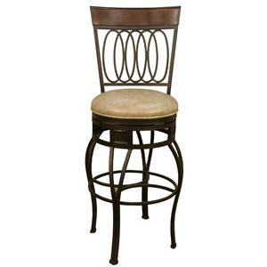 "American Heritage Billiards Bar Stools 24"" Capri Wheat Bar Stool"