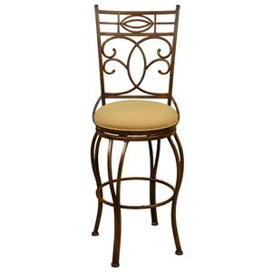 "American Heritage Billiards Bar Stools 24"" Belleview Bar Stool"