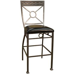 "American Heritage Billiards Bar Stools 24"" Allegro Bar Stool"