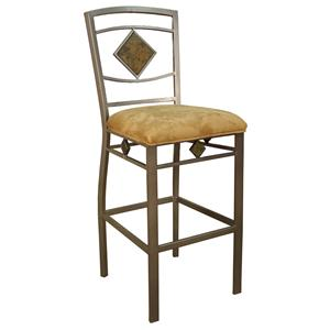 "American Heritage Billiards Bar Stools 24"" Scioto Bar Stool"