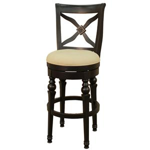 "American Heritage Billiards Bar Stools 24"" Livingston Bar Stool"