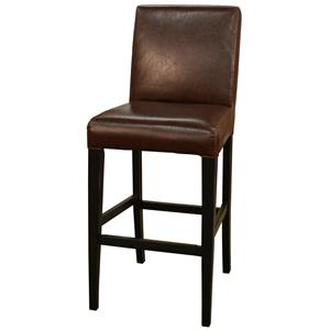 "American Heritage Billiards Bar Stools 26"" Bourbon Highland Bar Stool"