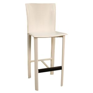 "American Heritage Billiards Bar Stools 26"" White Ethos Bar Stool"