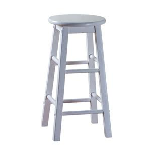 "American Heritage Billiards Bar Stools 24"" White Classic Bar Stool"
