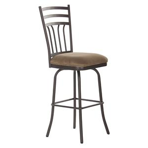 "American Heritage Billiards Bar Stools 26"" Caspian Bar Stool"