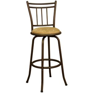 "American Heritage Billiards Bar Stools 24"" Anassa Bar Stool"