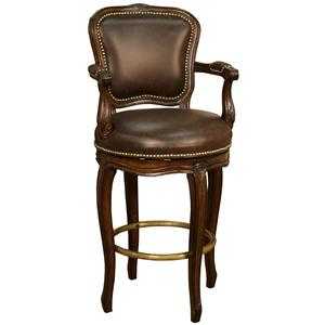 "American Heritage Billiards Bar Stools 26"" Salvatore Bar Stool"