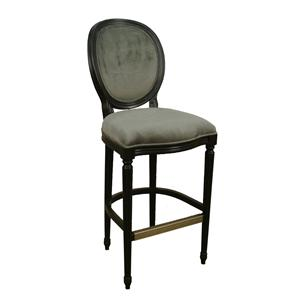 "American Heritage Billiards Bar Stools 26"" Black Dante Bar Stool"