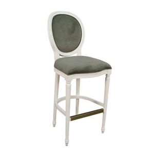"American Heritage Billiards Bar Stools 30"" White Dante Bar Stool"