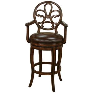 "American Heritage Billiards Bar Stools 30"" Othello Bar Stool"