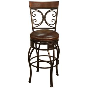 "American Heritage Billiards Bar Stools 24"" Trevesio Bar Stool"